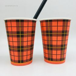 100% Bamboo Pulp Material Paper Cups for Coffee