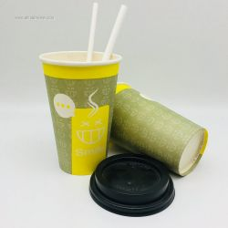 Coffee Mug Paper Cups 100% Biodegradable