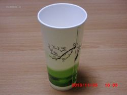 24oz disposable paper cup,single wall paper cup