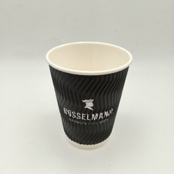 Environment-friendly, biodegradable, heat-insulating double-layer cup