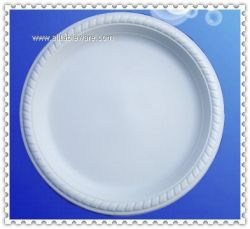 9inch biodegradable cornstarch plate